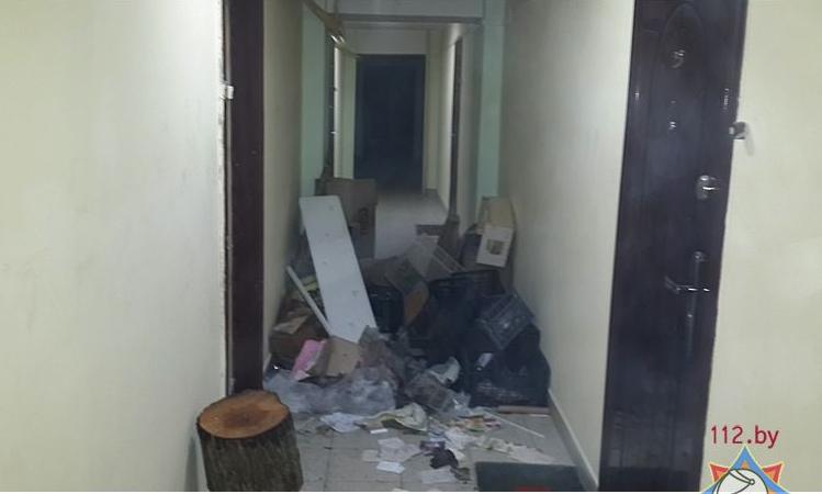 В Бресте на пожаре по ул. Суворова спасены 6 человек