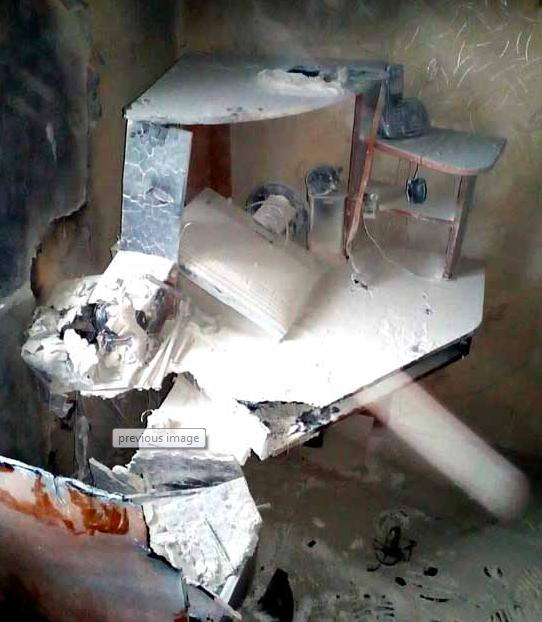 Житель Пинского района применил четыре огнетушителя для тушения загоревшегося компьютера