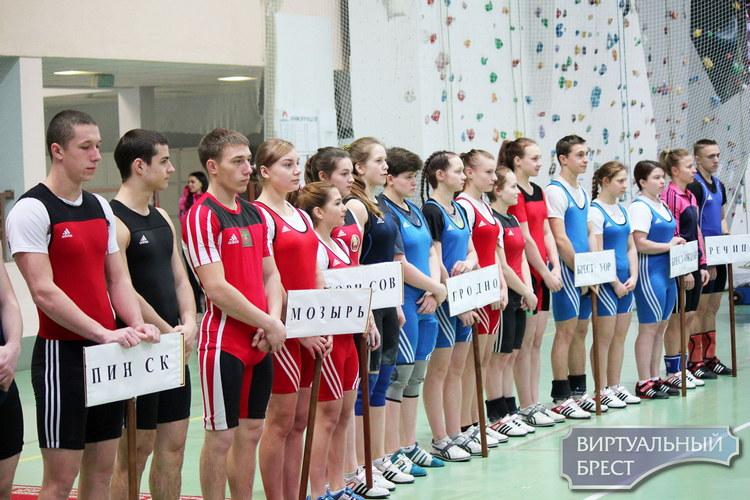 Международный тяжелоатлетический турнир под патронажем Брестской таможни