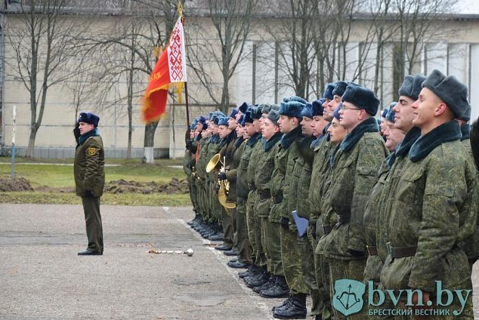 У брестских военных начался учебный год