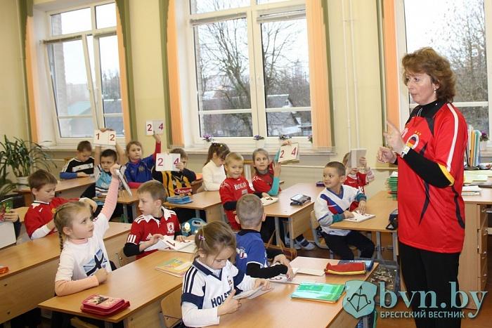 В СШ№19 весь школьный день провели в футбольных майках