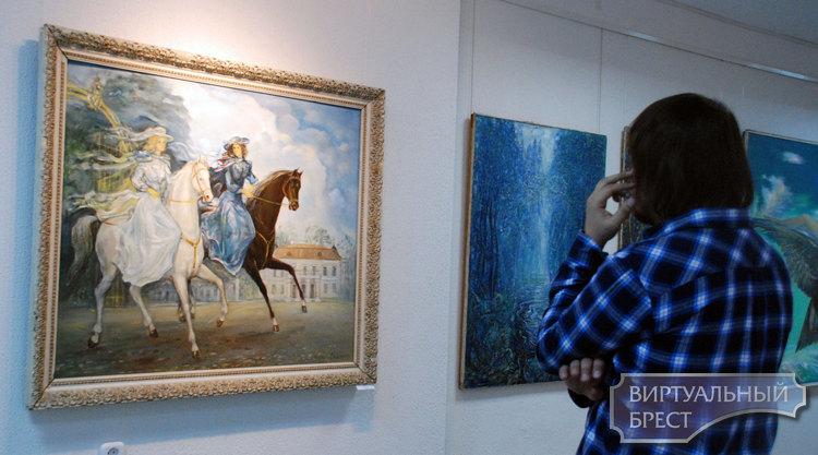 Тема тысячелетия Бреста продолжает волновать умы художников