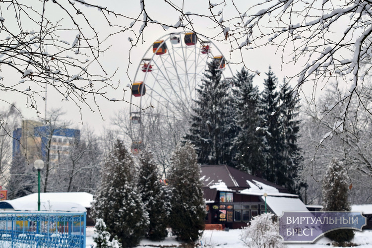 В парке лепят снежных баб и катаются на санках, коньки пока не востребованы. А как в городе?