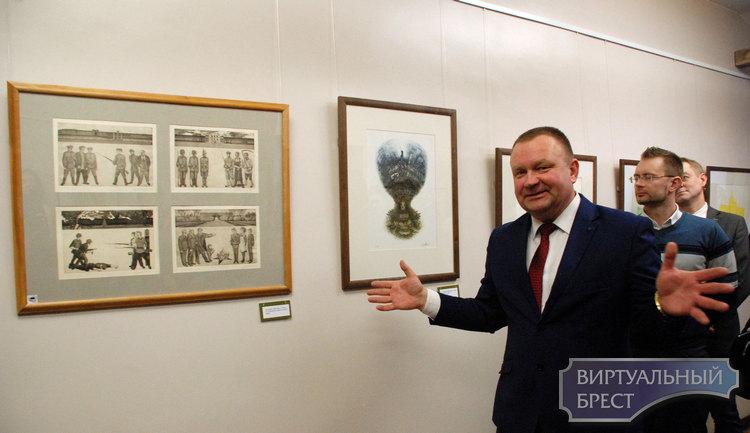 26 января в Бресте открылась выставка «У пошуках вытокаў - 2»