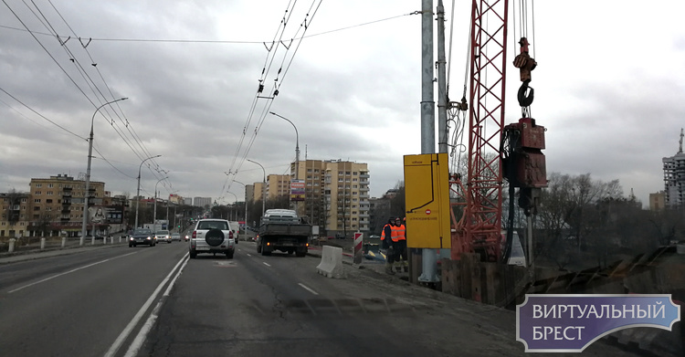 Трещины на Кобринском мосту не представляют опасности