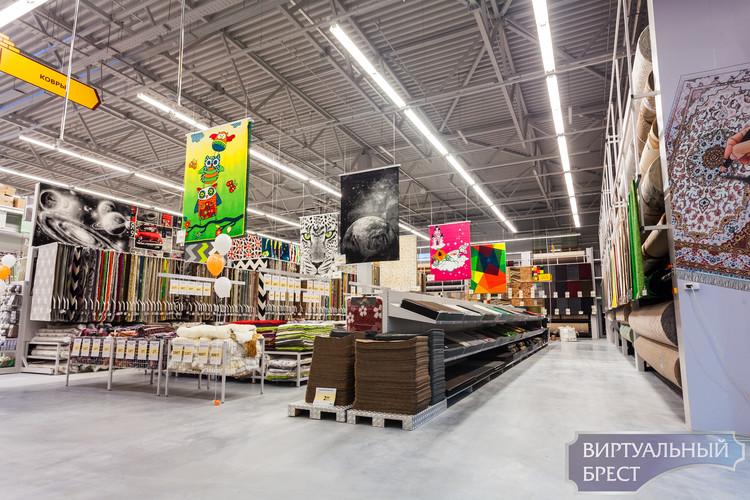 Самый крупный в стране строительный гипермаркет откроется в Бресте