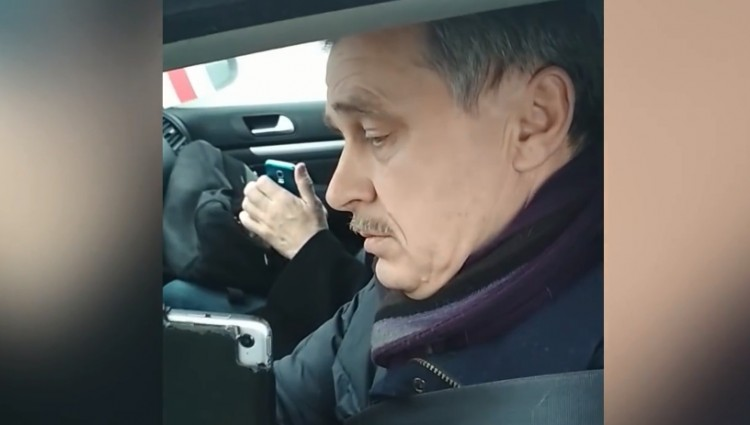 Милиции пришлось показать видео, как и почему задержали Лебедько на трассе