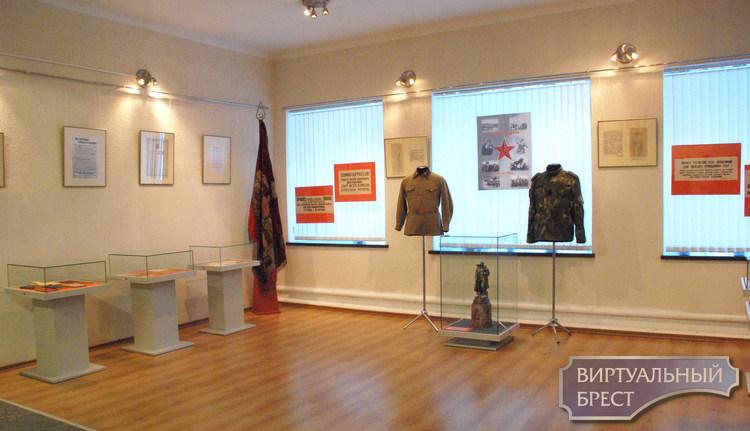 В Брестской крепости открылась выставка, посвященная 100-летию образования РККА