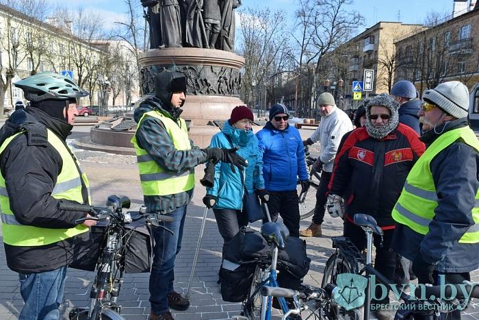 Зимний велосезон закрыли в Бресте. Никто не заболел