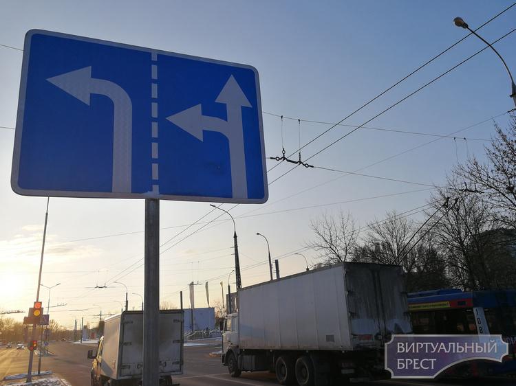 С Я.Купалы на Партизанский проспект налево разрешили поворачивать с двух полос