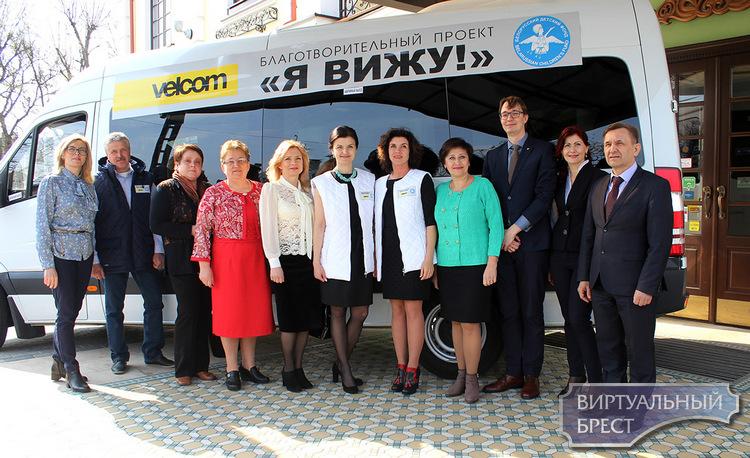 Мобильные бригады офтальмологов обследуют детей в восьми районах Брестской области