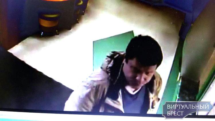 Милиция ищет мужчину, который подозревается в хищении средств из кассы банка в Бресте
