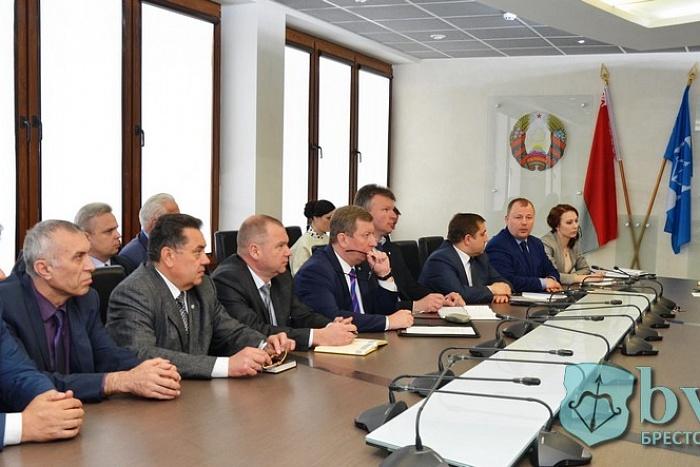 В Бресте обсудили план развития города до 2030 года