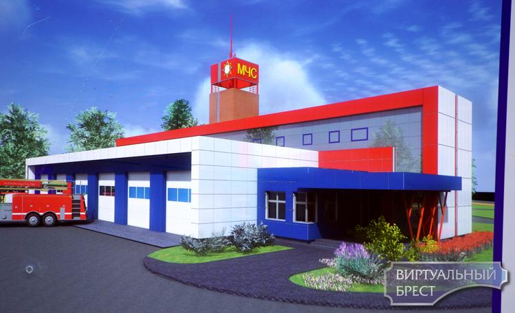 Новое пожарное депо начали строить в Южном городке