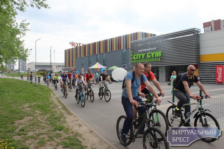В Бресте подвели итоги  акции «30 дней на велосипеде»