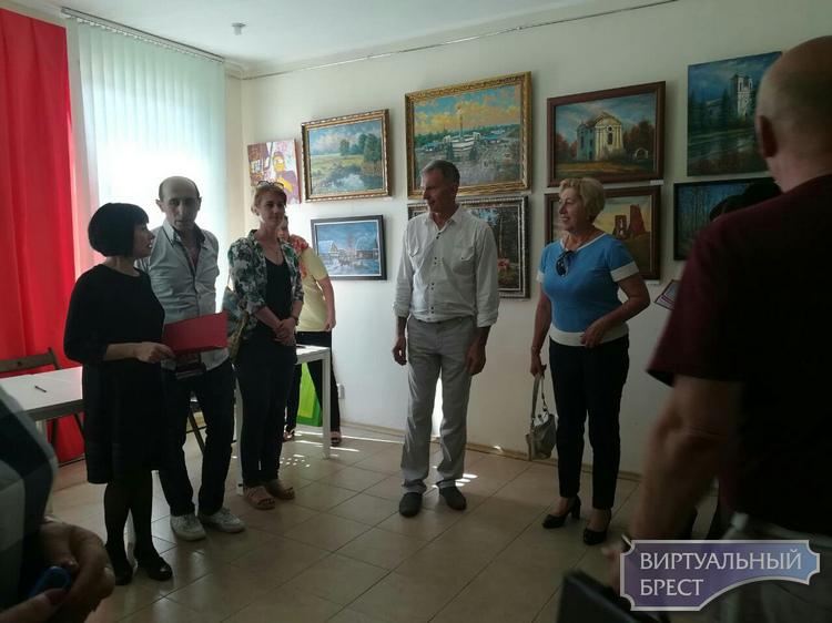 Открытие художественной выставки «Моя малая Родина»