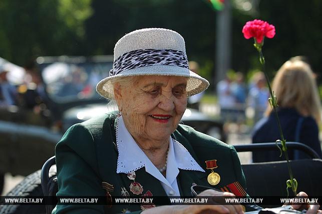 Ветеран Великой Отечественной войны Снетко Вера