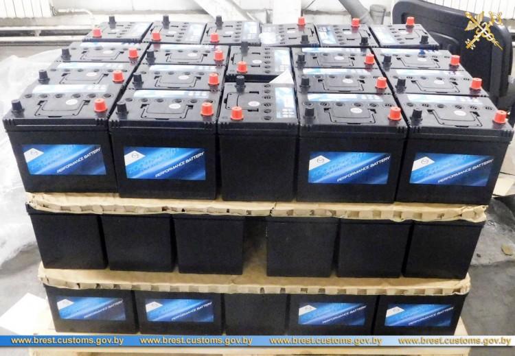 60 аккумуляторов пытались ввезти в ЕЭС без документов