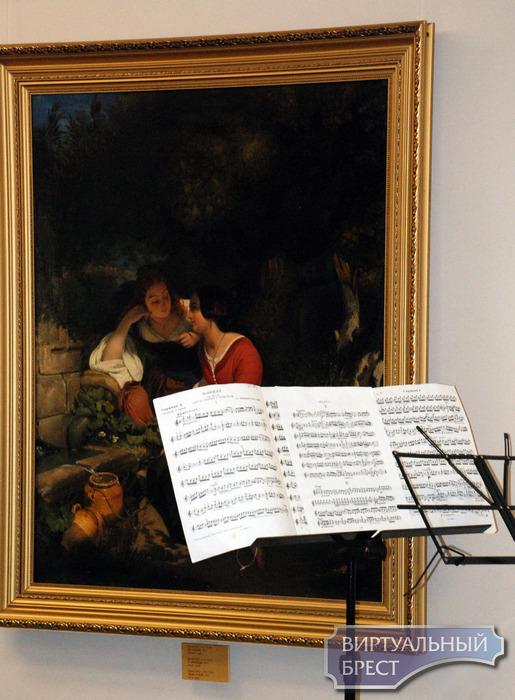 В Бресте состоялся литературно-музыкальный вечер «Грёзы об Италии»