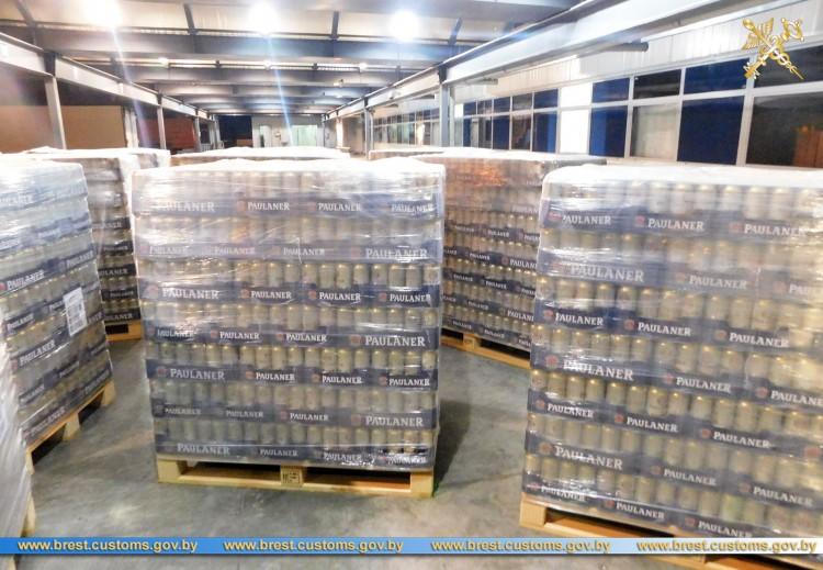 В ПТО «Козловичи» выявили незадекларированную партию пива