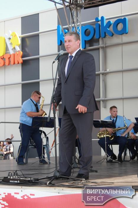 Состоялись праздничные мероприятия, посвящённые 40-летию Московского района г. Бреста