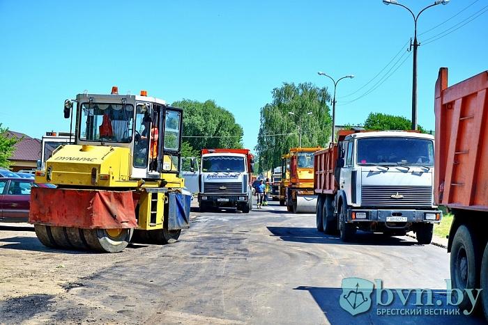 Западный тупик в Бресте уже не тупик, начаты работы по асфальтированию дороги на Речицу