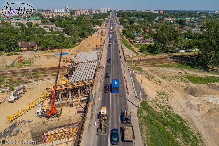 """""""Свежие"""" фото реконструкции Кобринского моста: сверху открываются изумительные виды"""