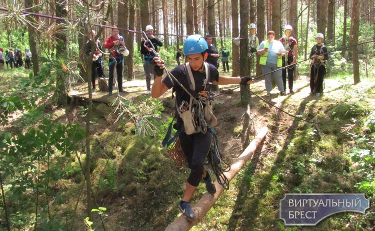 Праздник туризма провели в Беловежской пуще