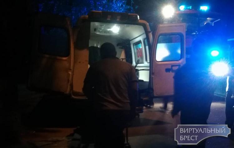 Очевидцы рассказали, что на самом деле случилось ночью у забора в районе БрГТУ