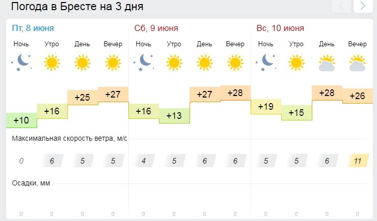 Все на пляж! Погода в выходные на Брестчине 9 и 10 июня. Но кое где нельзя купаться