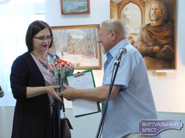 В Бресте открылась выставка Анжелики Вакулич «Душы маёй адлюстраванне»
