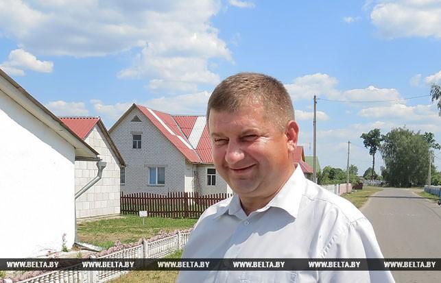 Председатель Хотыничского сельского исполнительного комитета Геннадий Перещук