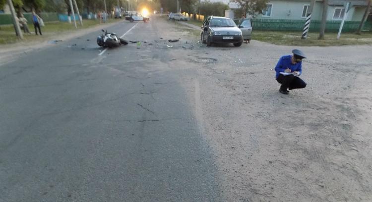 ДТП в Ивановском районе, в результате которого погиб мотоциклист: возбуждено уголовное дело