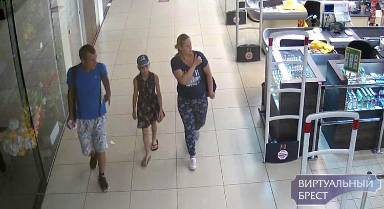 Устанавливаем личности посетителей магазина «Дионис»: мама, папа и доча