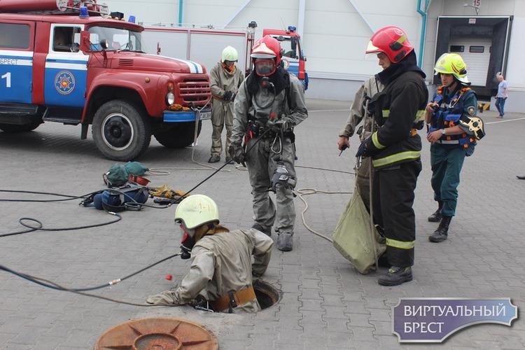 На Санта Бремор прошли тренировочные учения спасателей