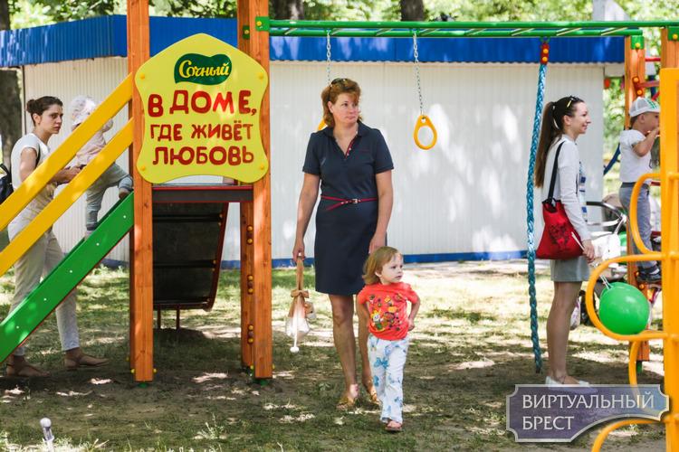 «Сочный дворик» открыли в парке культуры и отдыха Бреста