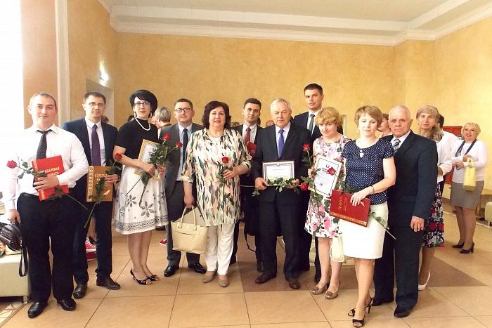Медикам Брестчины вручили почётные награды