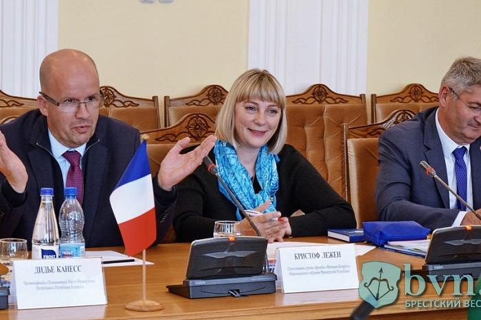 Что обсуждали в Бресте депутаты парламента Франции