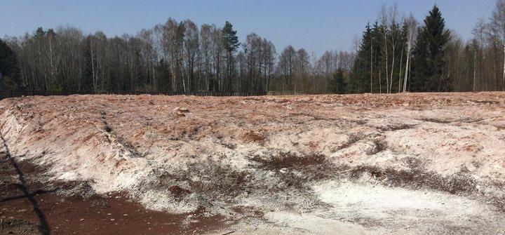 Из поселка Зеленый Бор вывозят опасные отходы, которые хранились под видом минеральных добавок