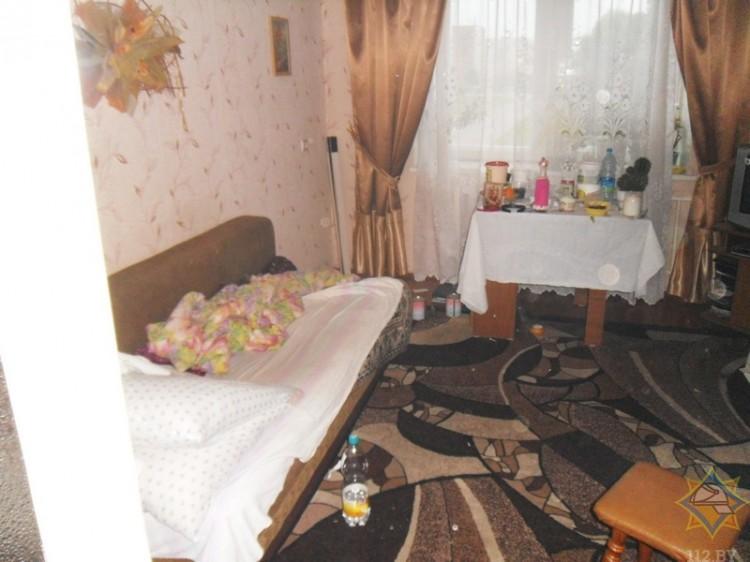 В Брестской области спасли мужчину из задымленной квартиры