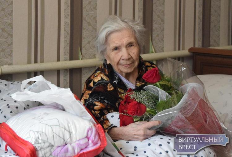 В Ленинском районе г. Бреста живет ветеран войны,  освобождавший Брест