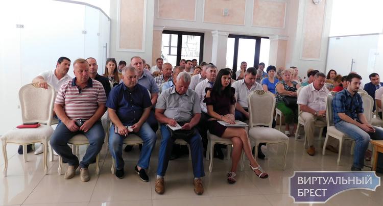 В Бресте обсудили вопрос украшения города и подготовку к фестивалю цветов «Краски Бреста»