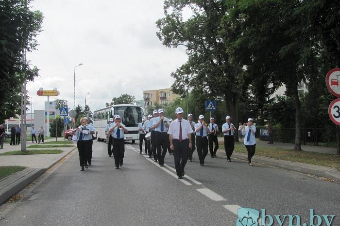 Брестские артисты поздравили Тересполь с Днем города