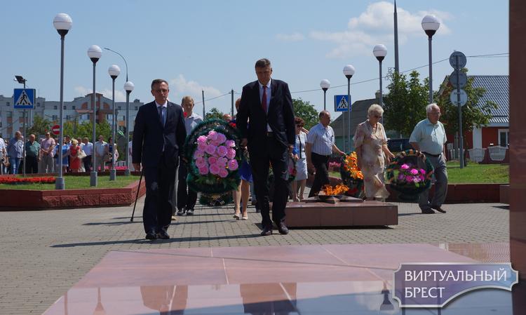 21 июля в Жабинке прошли праздничные мероприятия ко Дню города