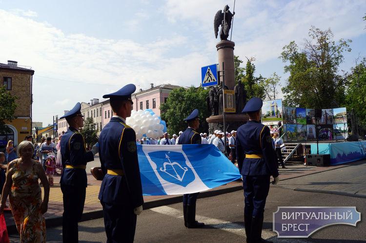 Брест празднует 999-летие: на улице Советской состоялось открытие