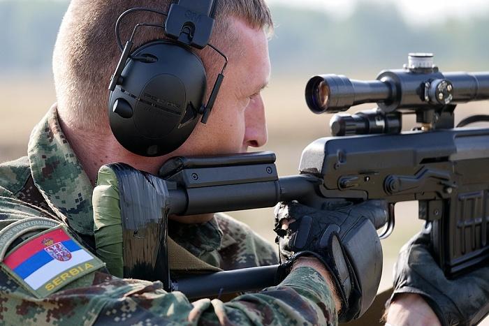 Снайперы из 18 стран состязались под Брестом