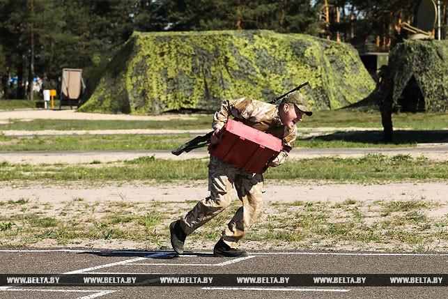 """Белорусские военнослужащие победили в конкурсе """"Снайперский рубеж"""""""