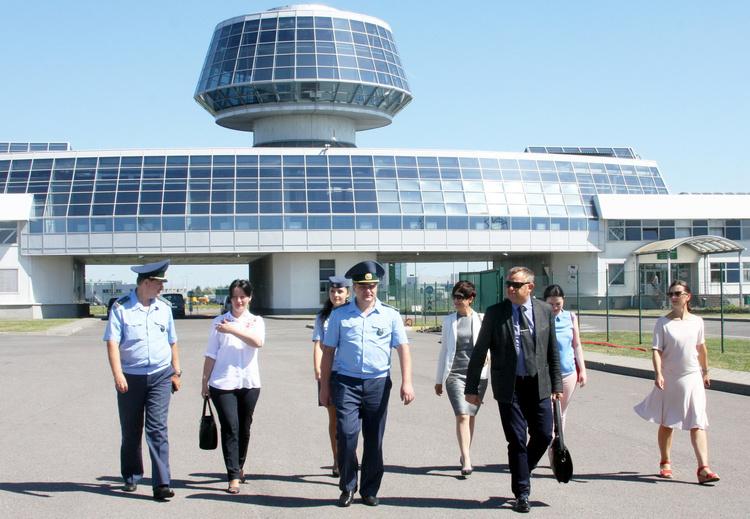 В Бресте состоялось международная встреча с литовскими таможенниками