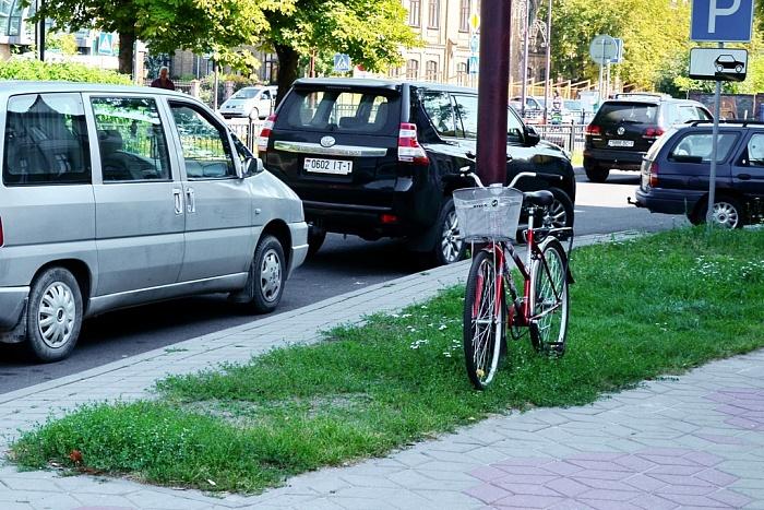 Паркрайтинг уже на улицах Бреста. Центр станет платным