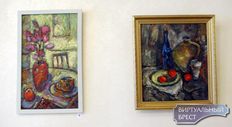 Открылась персональная выставка Анатолия Мелеховца «Аксамiтны летнi вечар»